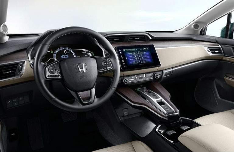 2018 Honda Clarity Plug-in Hybrid front interior