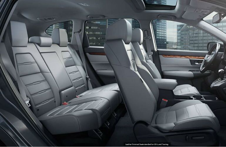 2018 Honda CR-V available leather seating