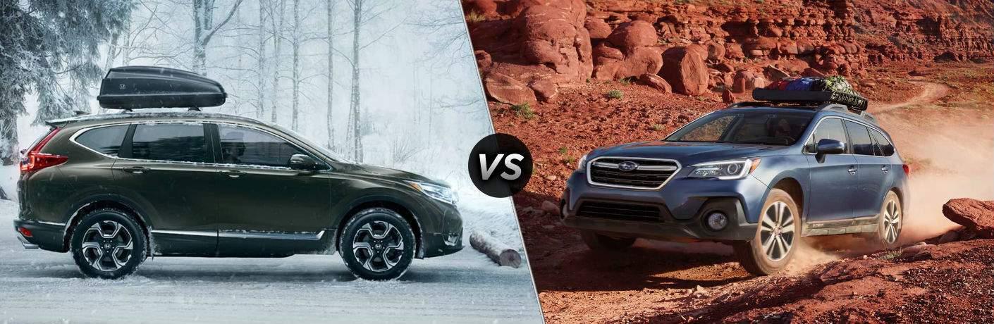 2018 Honda CR-V vs 2018 Subaru Outback