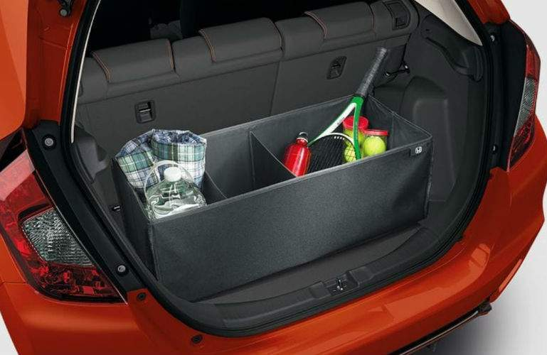 2018 Honda Fit cargo space with organizer
