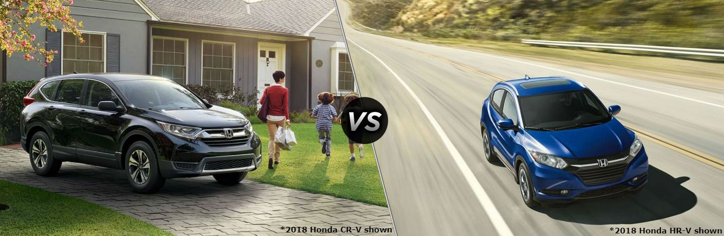 2018 Honda CR-V vs 2018 Honda HR-V