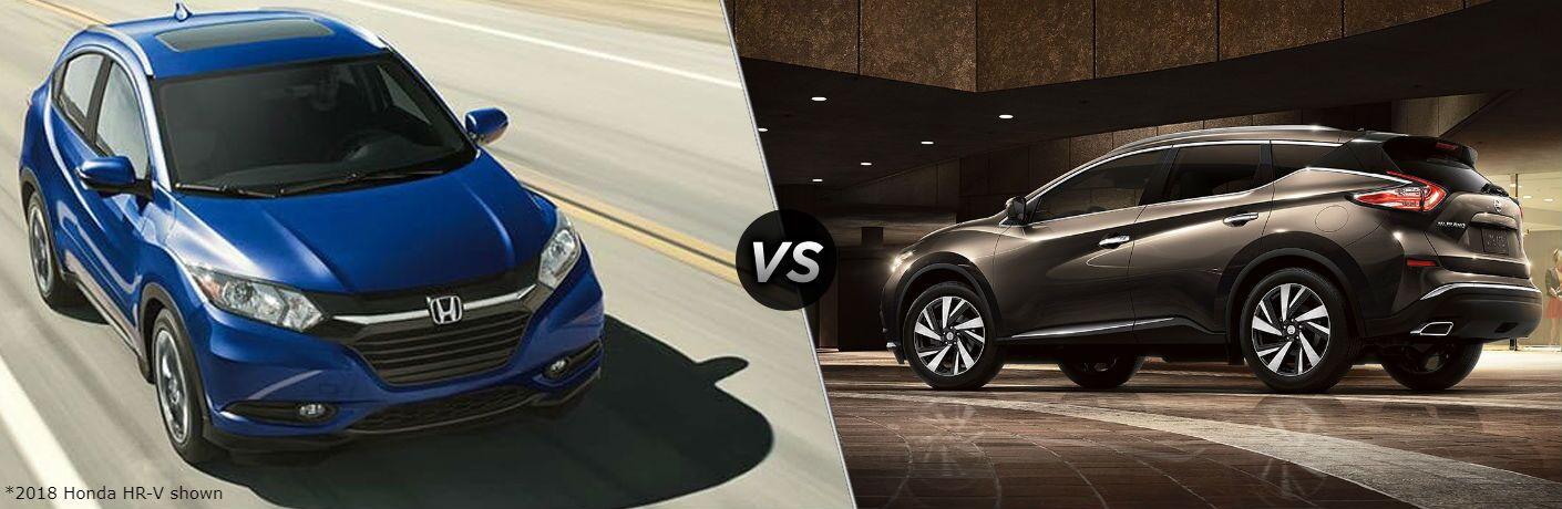 2018 Honda HR-V vs 2018 Nissan Murano | Rohrman Honda