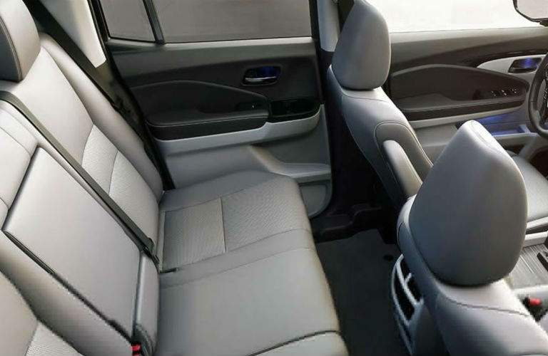 2018 Honda Ridgeline rear seats