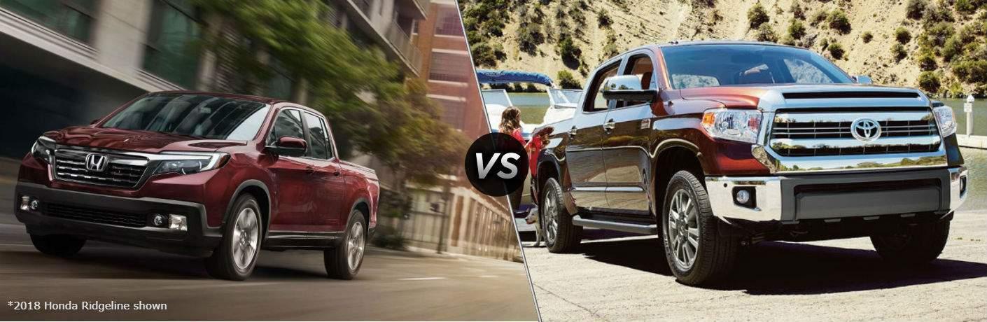 2018 Honda Ridgeline vs 2018 Toyota Tundra