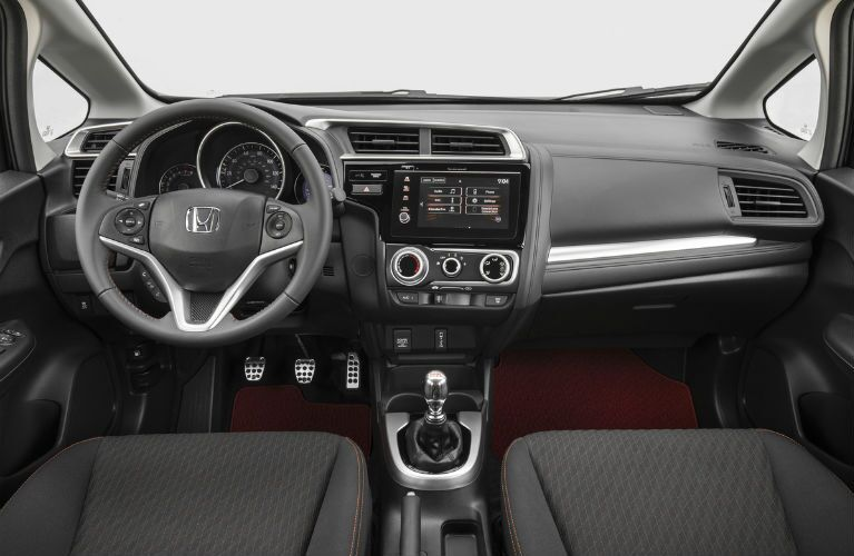 2019 Honda Fit front interior