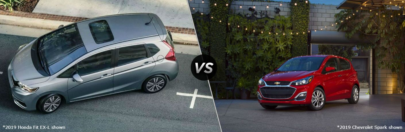 2019 Honda Fit vs 2019 Chevrolet Spark