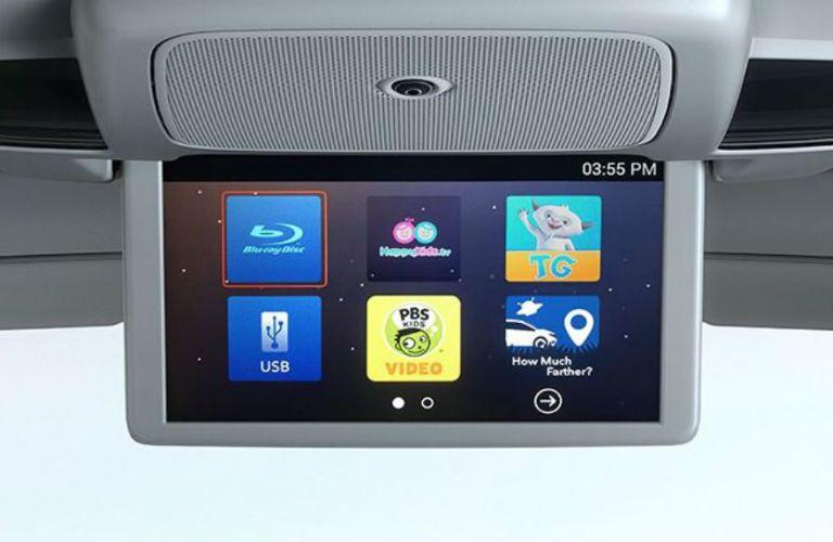 2019 Honda Odyssey Advanced Rear Entertainment System with Blu-Ray