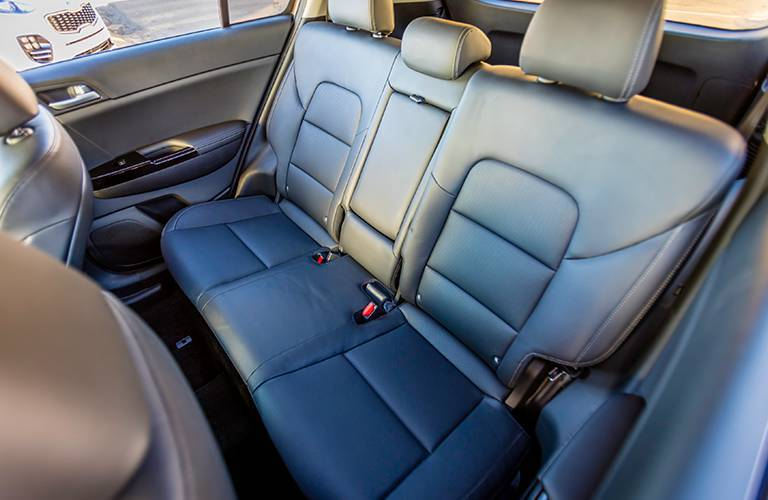 2017 Kia Sportage interior seating