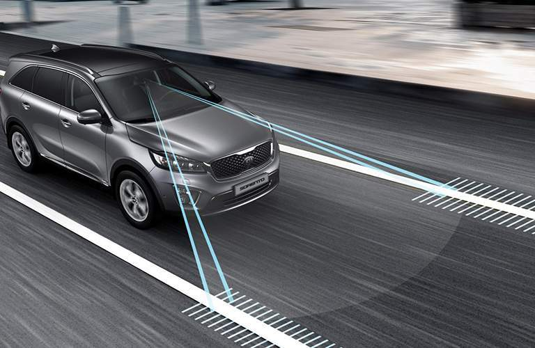 2018 Kia Sorento lane keep assist
