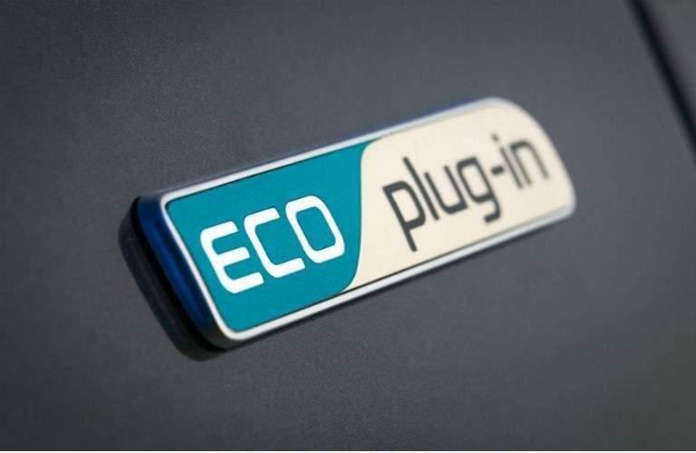 2018 Kia Niro Plug-In Hybrid eco plug in badging