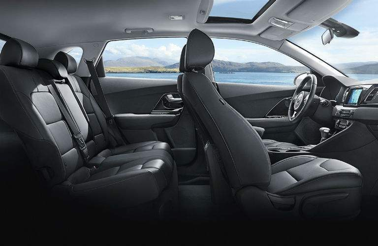 2018 Kia Niro seating