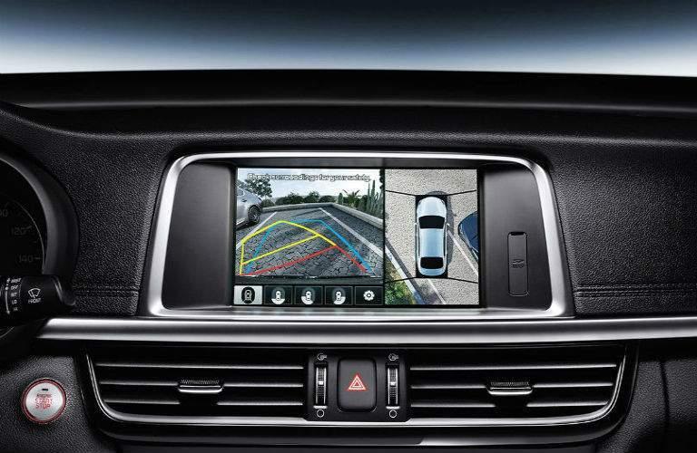 2018 Kia Optima interior rear backup camera