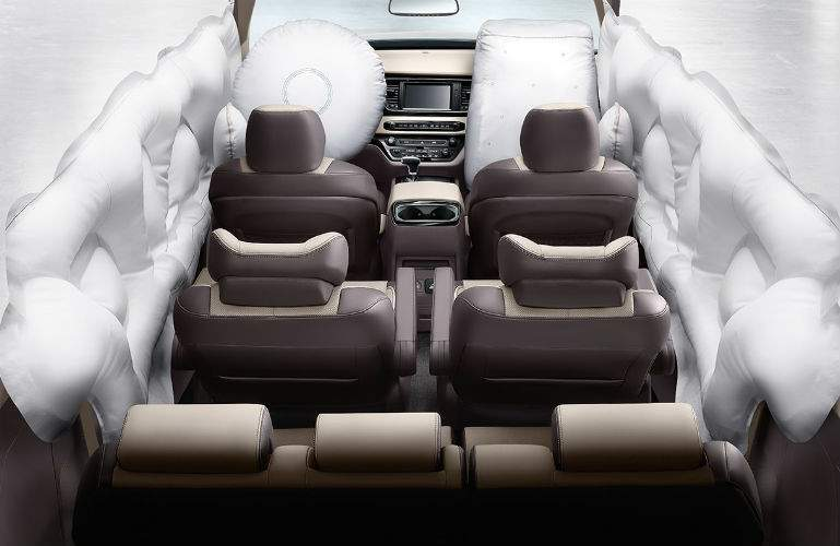 2018 Kia Sedona airbags