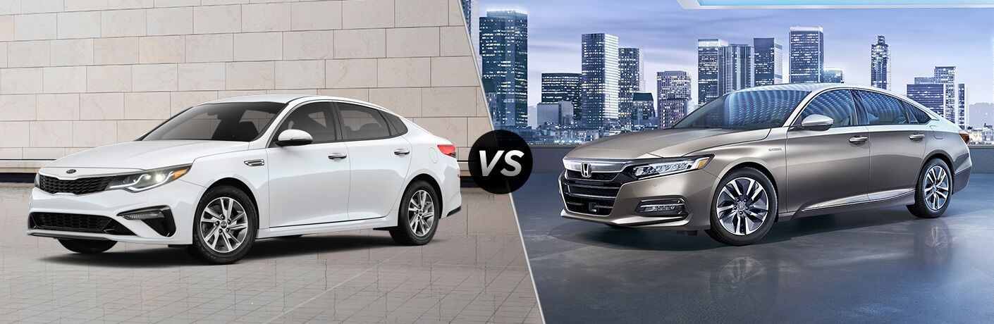 2019 Kia Optima vs 2019 Honda Accord