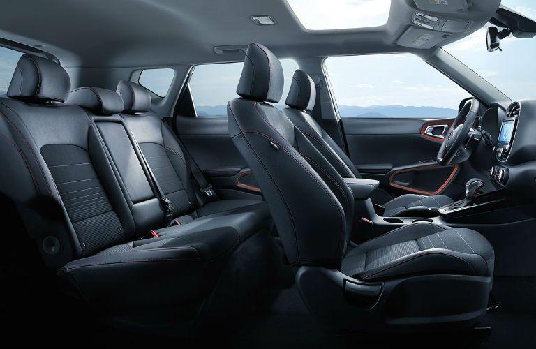 2020 Kia Soul side interior
