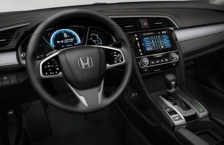 2017 Honda Civic dashboard