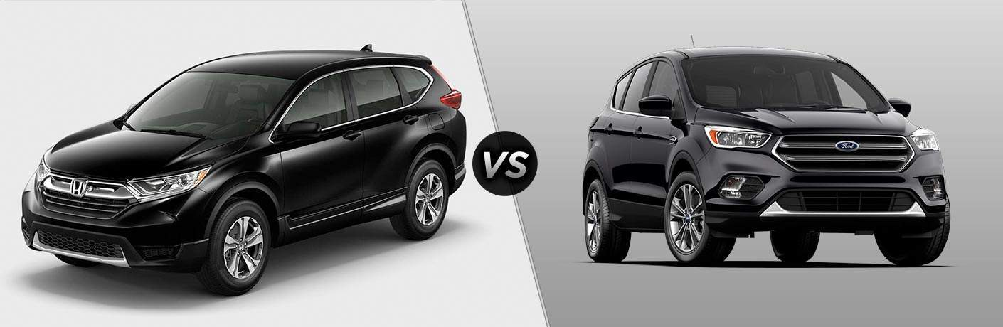 2017 Honda CR-V vs 2017 Ford Escape