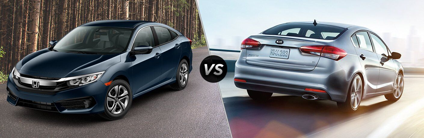 2017 Honda Civic vs 2017 Kia Forte