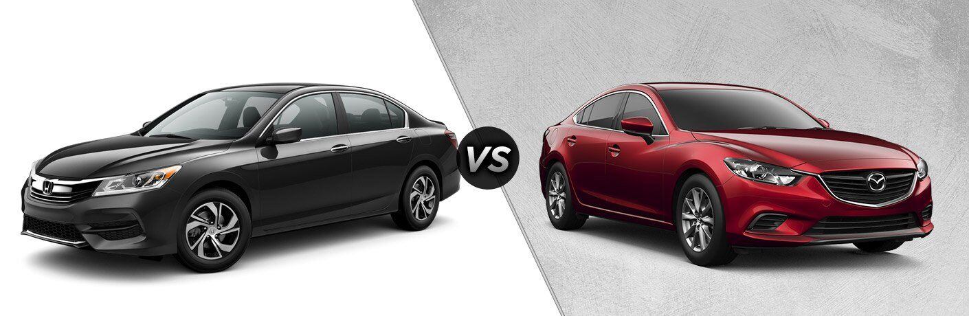 2017 Honda Accord vs 2017 Mazda Mazda6