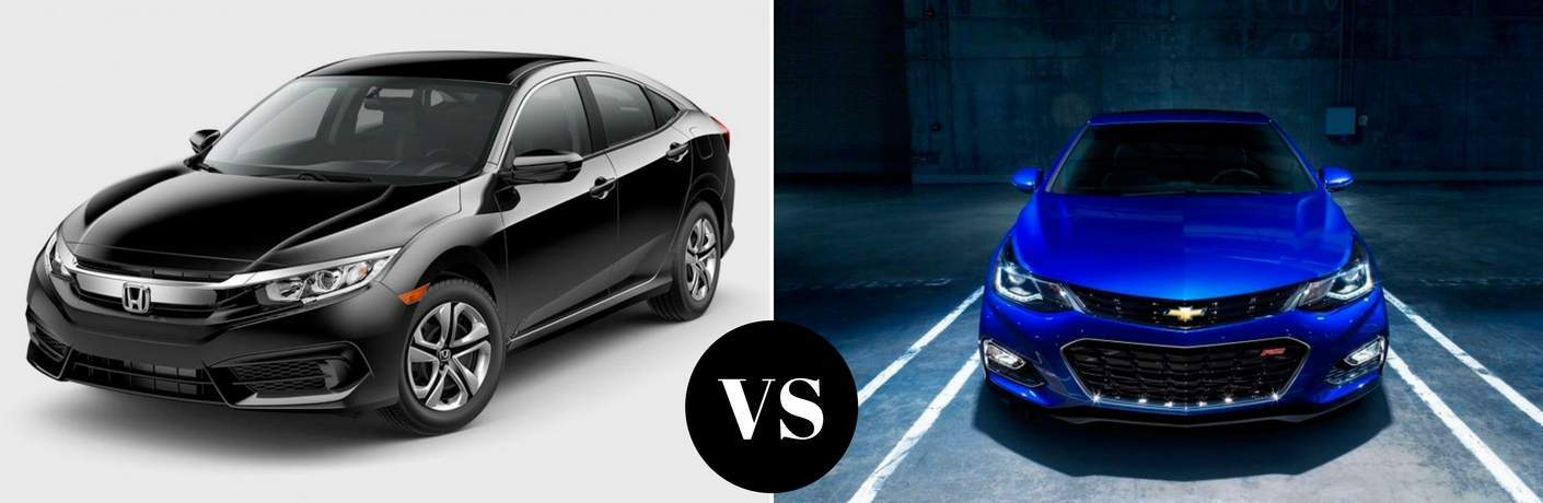 2017 Honda Civic vs 2017 Chevy Cruze