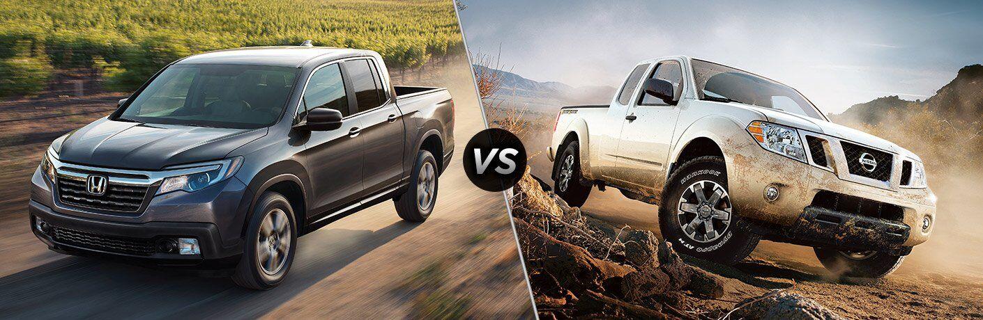 2017 Honda Ridgeline vs 2017 Nissan Frontier