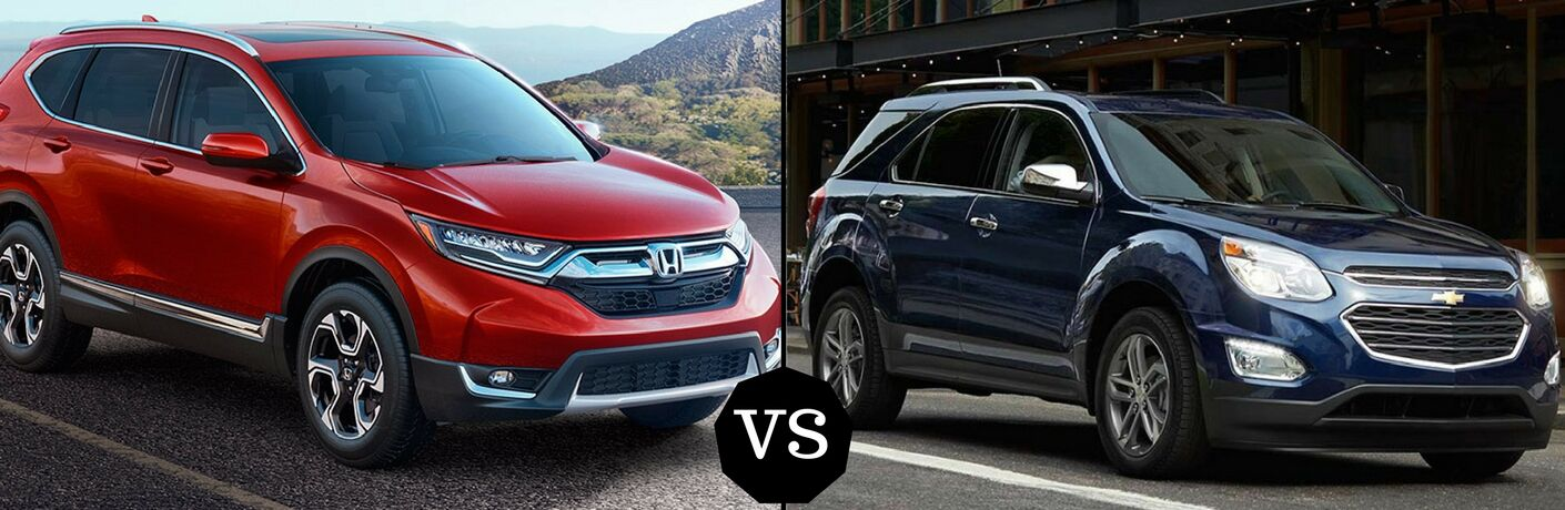 2017 Honda CR-V vs 2017 Chevy Equinox