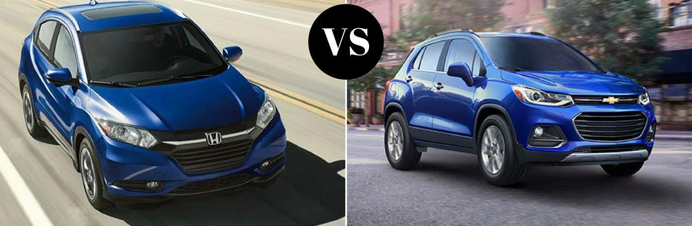 2018 Honda HR-V vs 2018 Chevy Trax