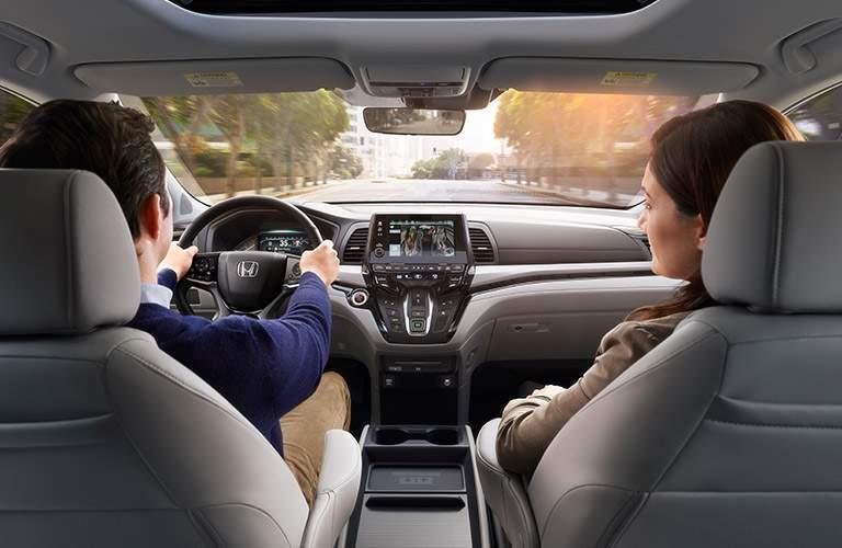 2018 Honda Odyssey cabin space