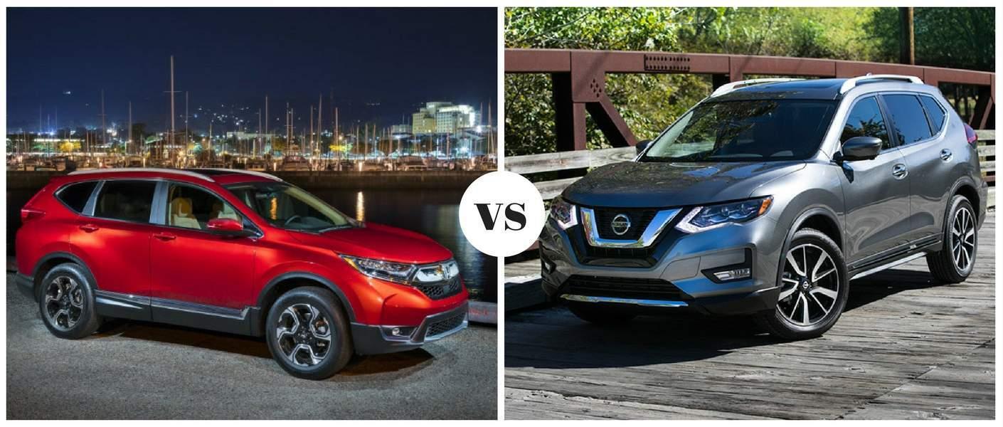 2018 Honda CR-V vs 2018 Nissan Rogue