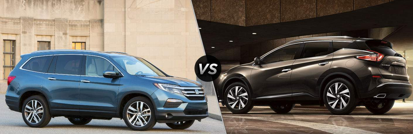 2018 Honda Pilot vs 2018 Nissan Murano