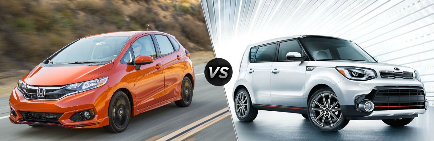 2018 Honda Fit vs 2018 Kia Soul