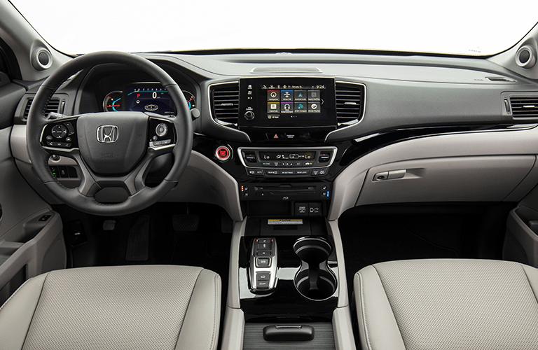 2019 Honda Pilot dashboard