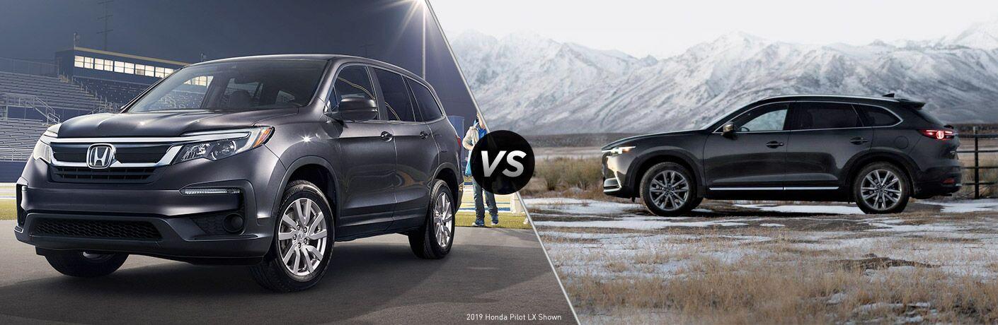 2019 Honda Pilot vs 2019 Mazda CX-9