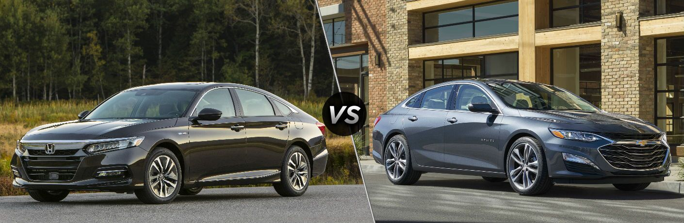 2019 Honda Accord Hybrid vs 2019 Chevy Malibu Hybrid