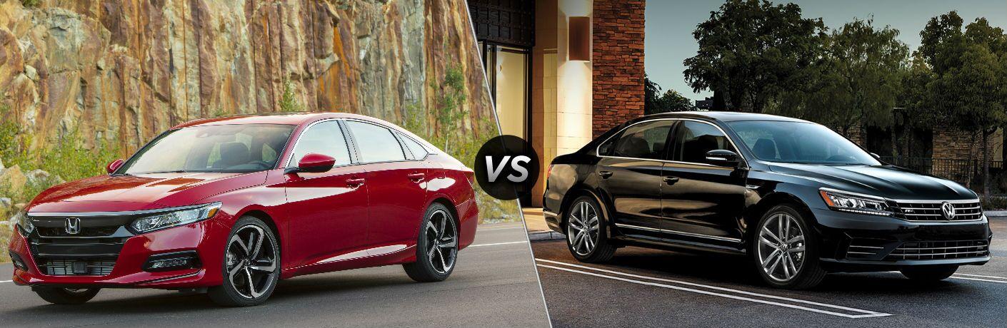 2019 Honda Accord Sport vs 2019 Volkswagen Passat