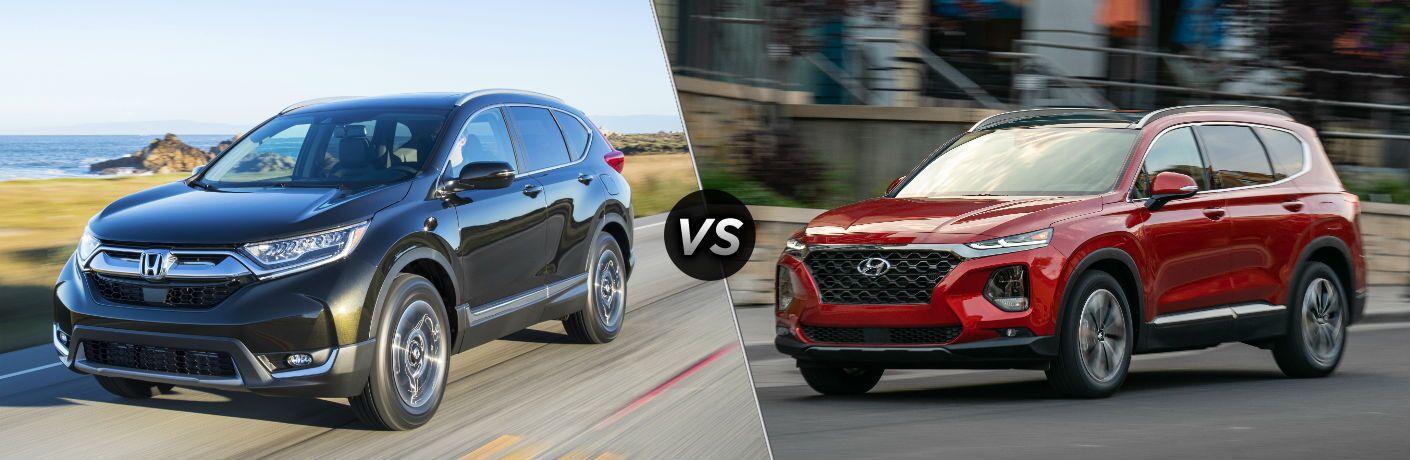 2019 Honda CR-V vs 2019 Hyundai Santa Fe