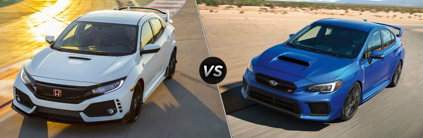 2019 Honda Civic Type R vs 2019 Subaru WRX STI