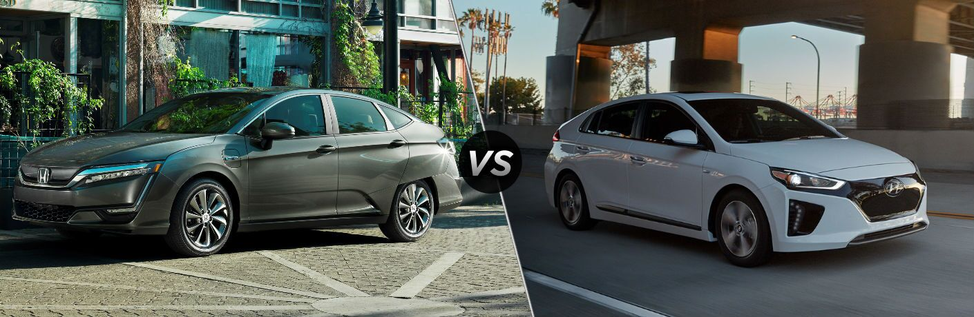 2019 Honda Clarity Electric vs 2019 Hyundai IONIQ Electric