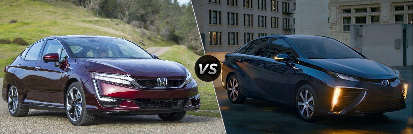 2019 Honda Clarity Fuel Cell vs 2019 Toyota Mirai