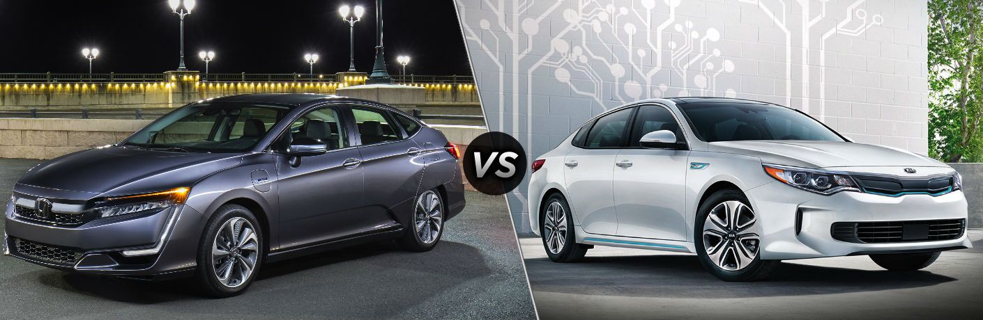 2019 Honda Clarity Plug-In Hybrid vs 2019 Kia Optima Plug-In Hybrid