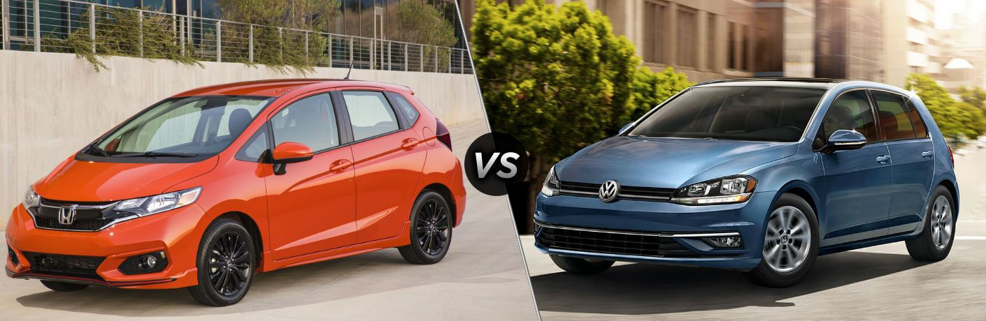 2019 Honda Fit vs 2018 Volkswagen Golf