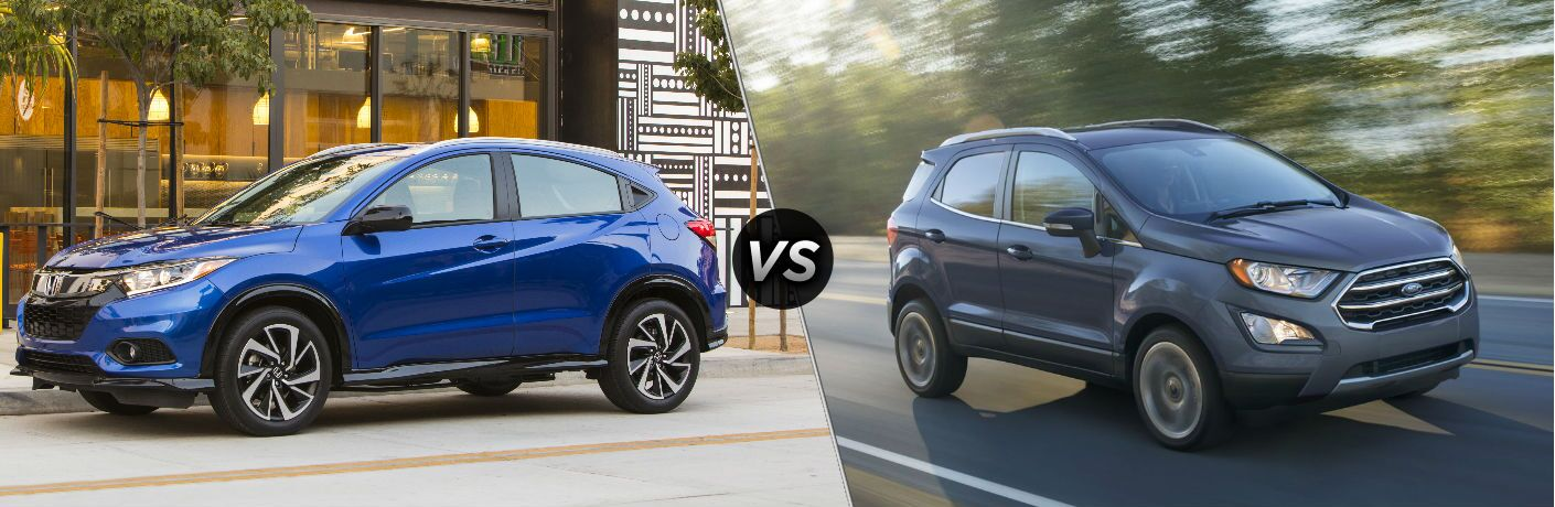 2019 Honda HR-V vs 2019 Ford EcoSport