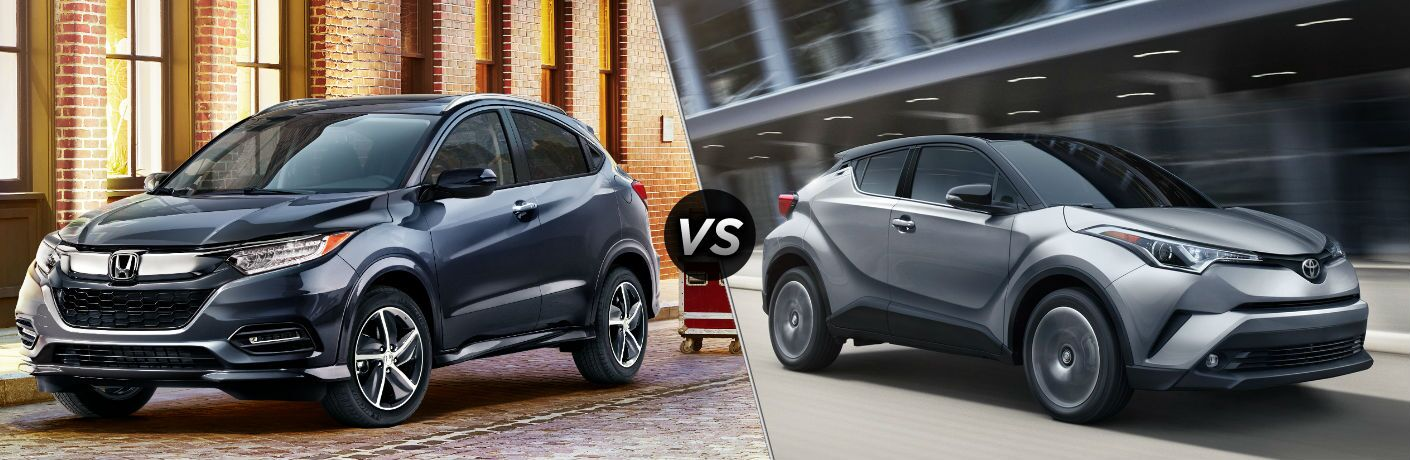 2019 Honda HR-V vs 2019 Toyota C-HR