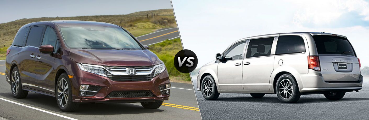 2019 Honda Odyssey vs 2018 Dodge Grand Caravan