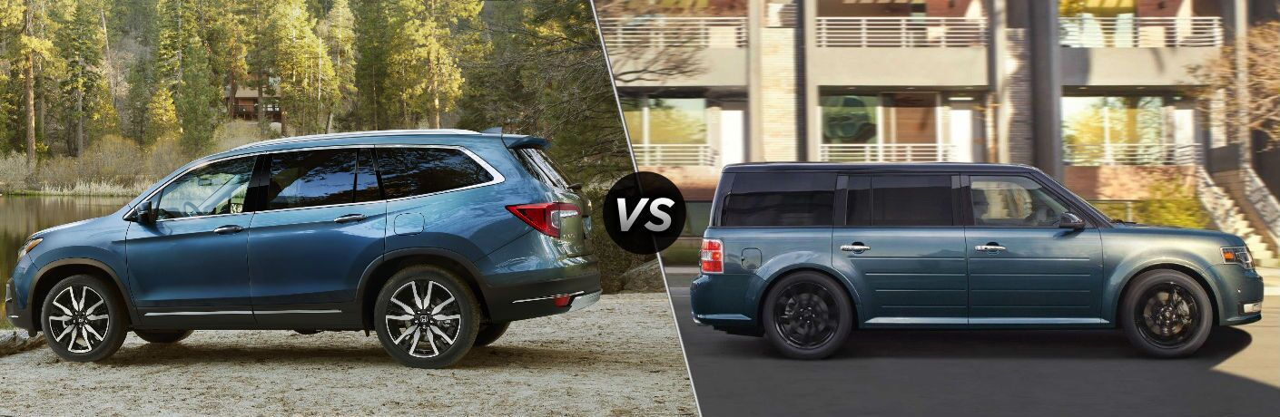 2019 Honda Pilot vs 2019 Ford Flex