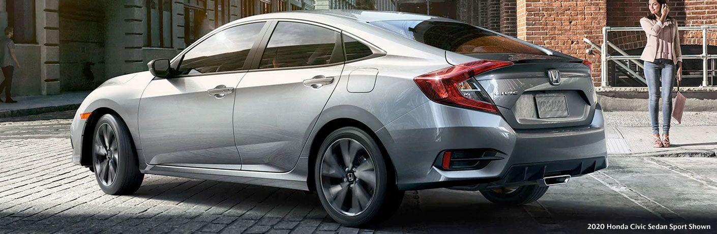 2020 Honda Civic Sedan Sport in gray