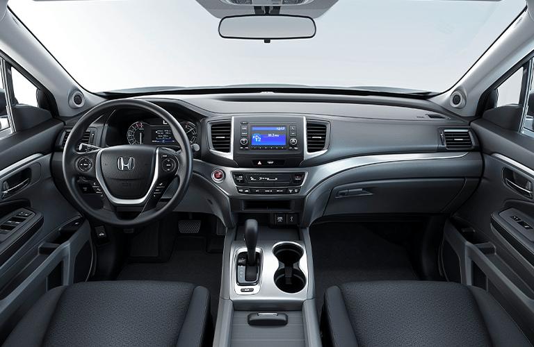 2020 Honda Ridgeline dashboard