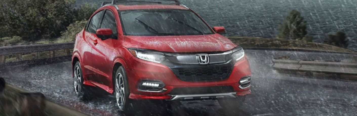 2020 Honda HR-V Touring in red