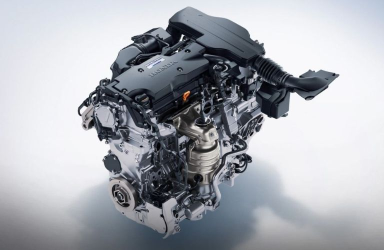 Image showing the hybrid powertrain of the 2021 Honda Accord Hybrid