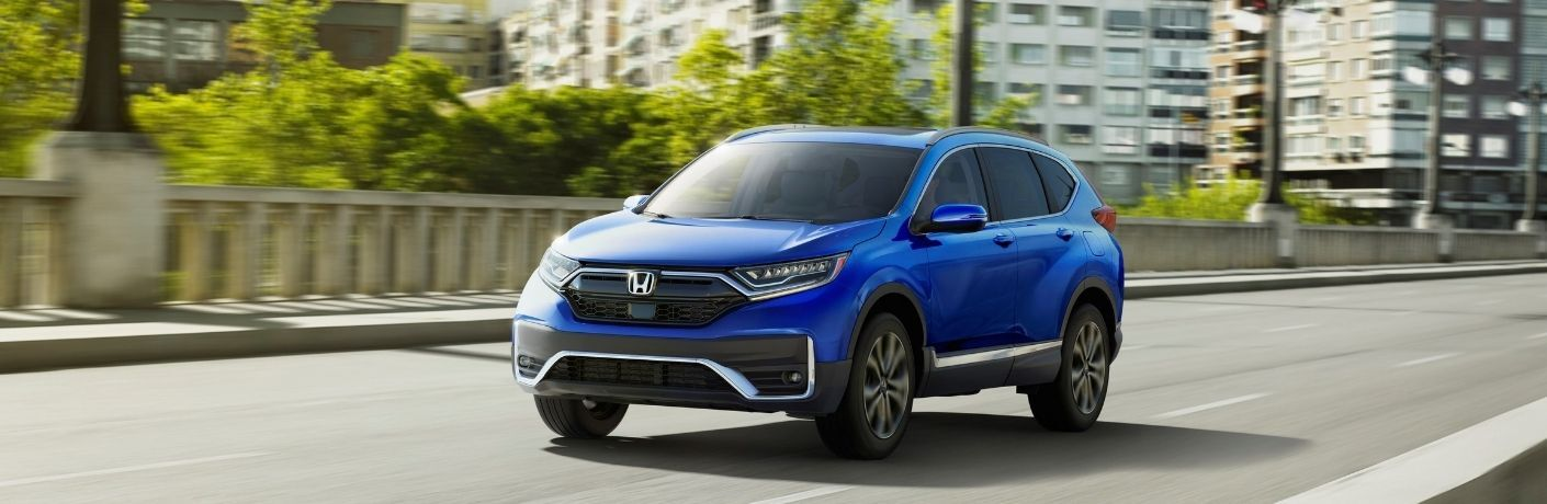 2021 Honda CR-V driving on road